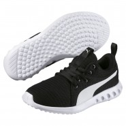 Puma Carson 2 Shoes Boys Black-White (533DFYRO)