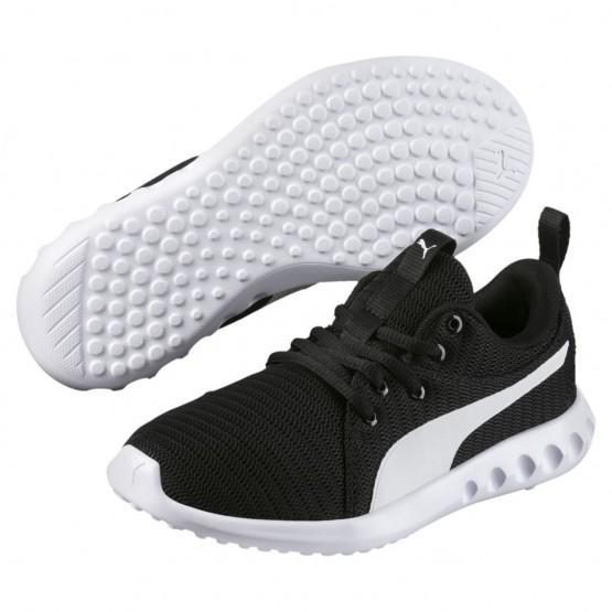 Puma Carson 2 Shoes Boys Black-White (533DFYRO)