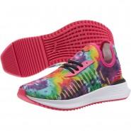 Puma AVID EVOKNIT Lifestyle Shoes Womens Btrt Prp-Nrgy Ylw-Bscy Grn (533OQENS)