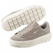 Puma Platform Shoes Womens Rock Ridge-Marshmallow (536JVZGE)