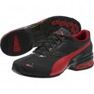 Puma Tazon 6 Shoes Mens Black-Red Dahlia (540CWGRU)