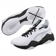 Puma Defy Training Shoes Womens White-Black (540ZNCUR)