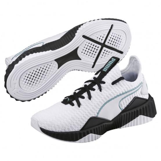 Puma Defy Training Shoes Womens White-Black (540ZNCUR)