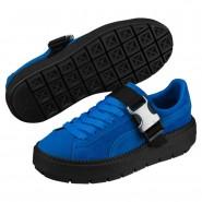 Puma Platform Shoes Womens Plat Blue-Plat Blue (552QFKPU)