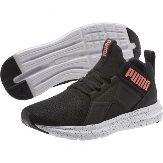 Puma Enzo Shoes Girls Black-Shell Pink (553WJMVH)