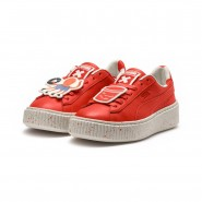 Puma x TINYCOTTONS Shoes Boys Grenadine-Whisper White (554IJRGY)