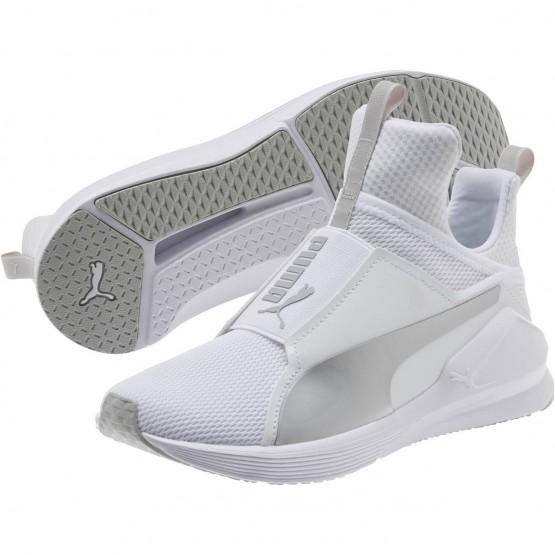 Puma Fierce Shoes Girls White-Gray Violet (554WLJCZ)