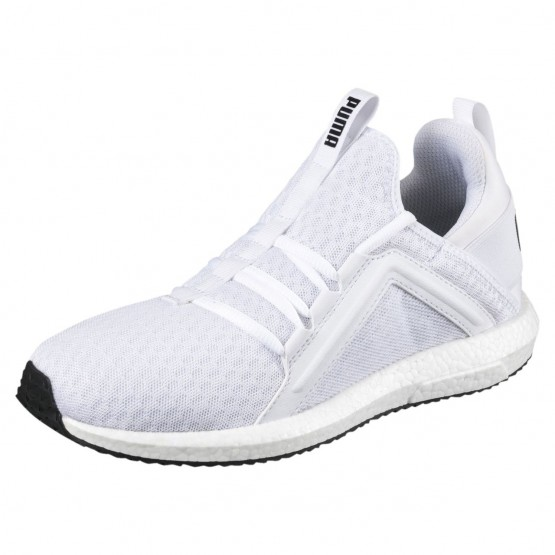 Puma Mega NRGY Training Shoes Womens White-Black (560JSWPO)