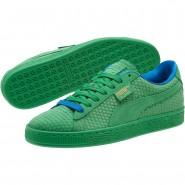 Puma Suede Classic Shoes Mens Kelly Green-Team Gold (568WNISU)