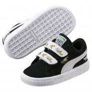 Puma Minions Shoes Boys Black-White (575ULHXT)