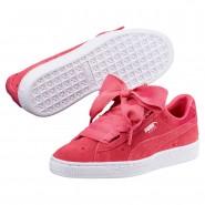 Puma Suede Heart Shoes Girls Paradise Pink-Paradise Pink (584SAITP)