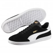 Puma Astro Cup Shoes Mens Black-White (585GUDQY)