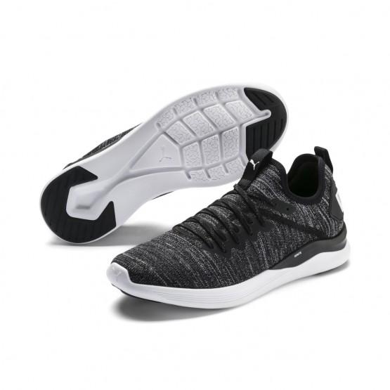 Chaussure Puma IGNITE Flash Homme Noir/Blanche (585YARDQ)