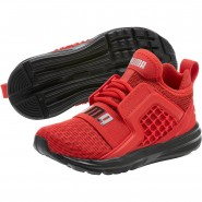 Puma Limitless Shoes Boys High Risk Red (598EDVBO)