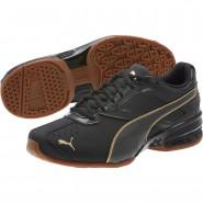 Puma Tazon 6 Training Shoes Womens Black-Team Gold (604ABENI)