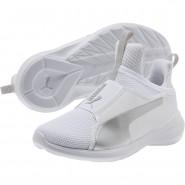 Puma Fierce Shoes Girls White-Gray Violet (608TRPNK)