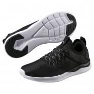 Puma IGNITE Flash Running Shoes Womens Black-Quiet Shade (610ZUSIT)