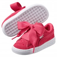 Puma Suede Heart Shoes Girls Paradise Pink-Paradise Pink (616YCNLQ)