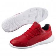 Puma Ferrari Shoes Mens Rosso Corsa-Rosso Corsa-Wht (633SDEKW)