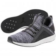 Puma Mega NRGY Shoes Mens Asphalt-Black (633ZAYHJ)