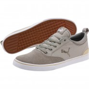 Puma Bridger Shoes Mens Rock Ridge-White (634VEKNM)