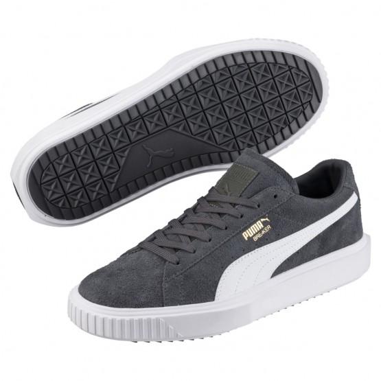Puma Breaker Shoes Mens Irongate-P White-Irongate (635BAZEO)