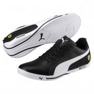 Puma Scuderia Ferrari Shoes Mens Black-White (648FQWUT)