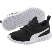 Puma Carson 2 Shoes Boys Black-White (648LKQRS)
