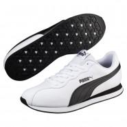 Puma Turin Shoes Mens White-Black (648RUIDO)