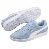 Puma Vikky Shoes Womens Cerulean-White (652YKCPX)