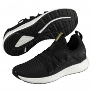 Puma NRGY Neko Shoes Womens Black-Metallic Gold (659XHBWO)