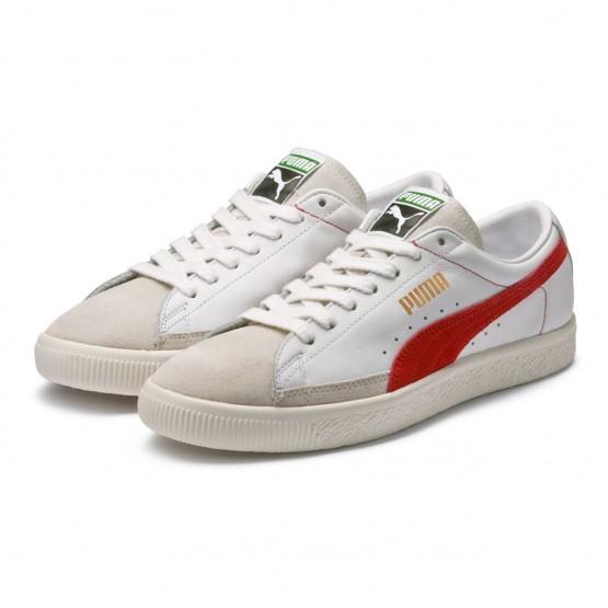 Puma Basket 90680 Shoes Mens White-Orange.Com (664OHIGJ)