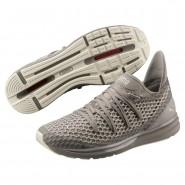 Puma IGNITE Limitless Running Shoes Mens Rock Ridge-Whisper White (665NHKUW)