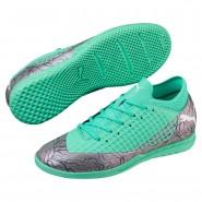 Chaussure Puma FUTURE Garcon Vert/Blanche/Noir (683LWYSB)
