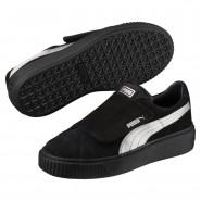 Puma Platform Shoes Womens Black-Black (684ZXEHF)