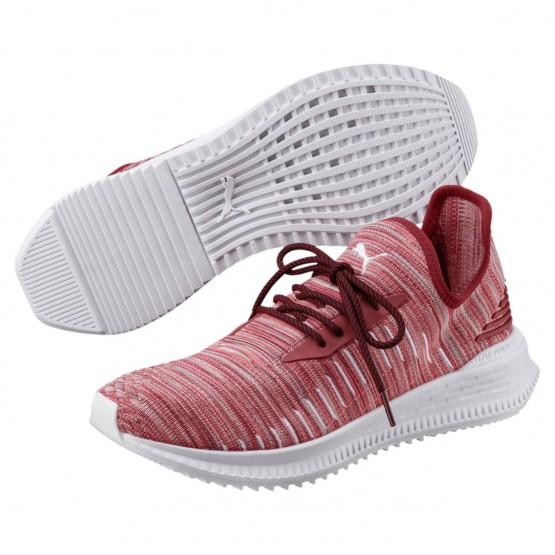 Puma AVID EVOKNIT Shoes Mens Red Dahlia-Gray Violet-White (689CZUBE)