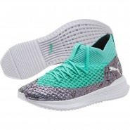 Puma FUTURE Indoor Shoes Mens Col Shift-Green-White-Black (691RZYKV)