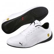 Puma Ferrari Shoes Mens White-White (707QFHYW)
