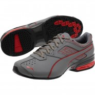 Puma Tazon 6 Shoes Mens Quiet Shade-High Risk Red (708HQYXW)
