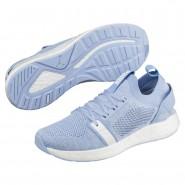 Puma NRGY Neko Training Shoes Womens Cerulean-White (711WTSZJ)