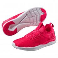 Puma IGNITE Flash Running Shoes Womens Bright Plasma-White (715TQBRL)