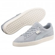 Chaussure Puma Suede Classic Homme Blanche (720MGYUC)