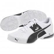 Puma Cell Shoes Mens White-Black (721AXQYL)