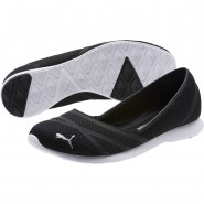 Puma Vega Ballet Shoes Womens Black-Black (724UWPHY)