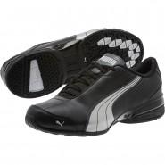 Puma Super Elevate Shoes Mens Black-White-Dark Shadow (729LHGRX)