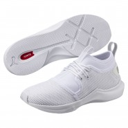 Puma Phenom Shoes Womens White-White (731MDPJQ)