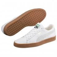 Puma Basket Classic Shoes Mens White (737KOTND)