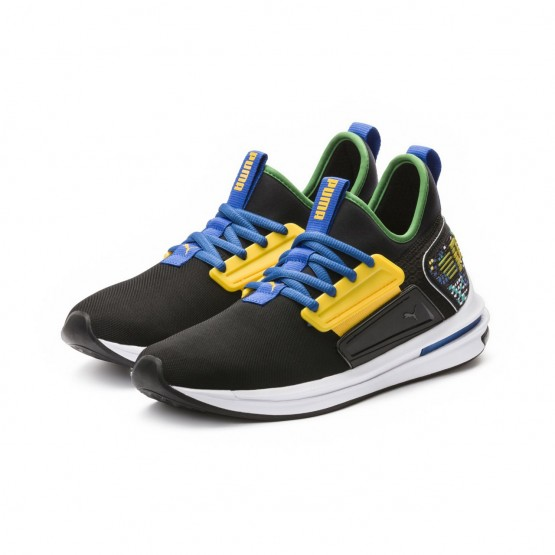 Puma IGNITE Limitless Running Shoes Mens Black (740IOQXG)
