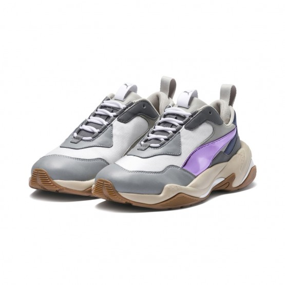 Puma Thunder Electric Lifestyle Shoes Womens White-Pink Lavender-Cement (755EJCBY)