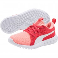 Puma Carson 2 Shoes Boys Soft Fluo Peach-White (761BKOXT)